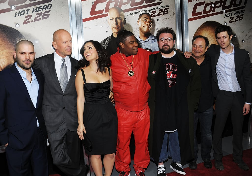 Photos of Cop Out Premiere