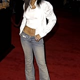 So did Christina Milian.