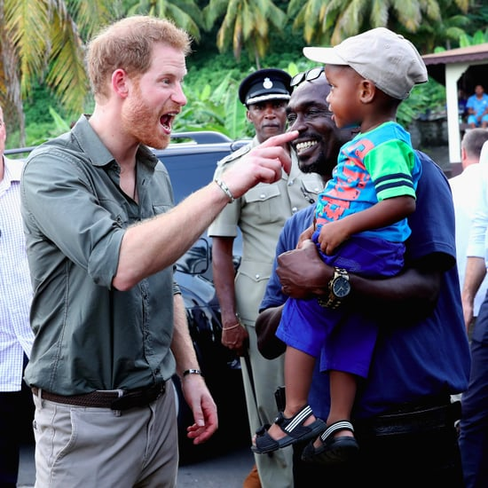 Prince Harry in Saint Vincent and the Grenadines 2016