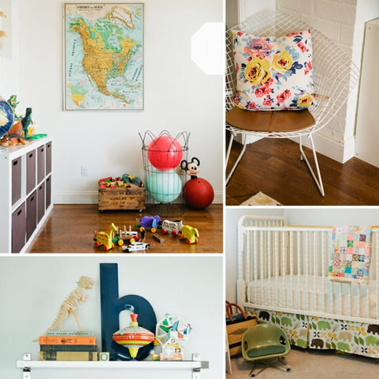 Modern Shared Boy Room: Modern Vintage Shared Kids Room