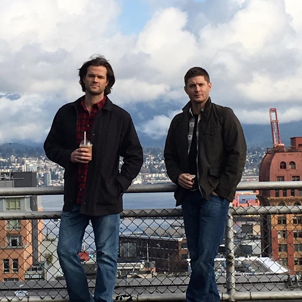 Jensen Ackles Instagrams From Supernatural