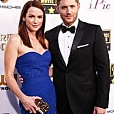 There was no time for a proper honeymoon. Jensen and Danneel's schedules as actors kept them too busy to take a big honeymoon straight away. After spending their wedding night at the hotel, the couple headed to New York City, where Danneel's new show Friends With Benefits was being introduced to advertisers at the network upfronts.