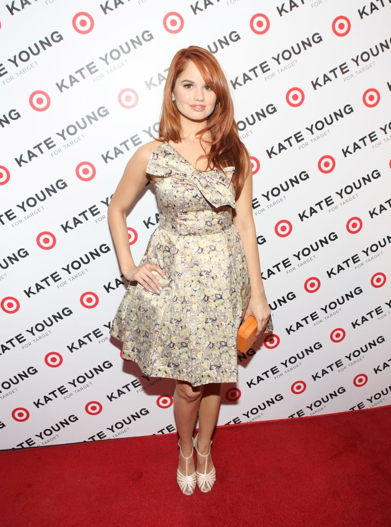 Debby Ryan dropped by the event.