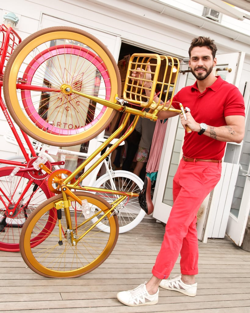 Lorenzo Martone at a private dinner for Martone Cycling in Montauk, New York. Source: Matteo Prandoni/BFAnyc.com