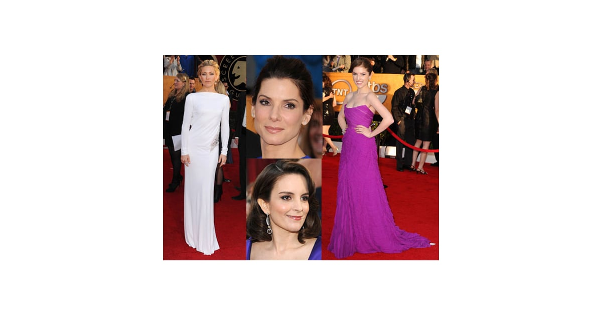 SAG Awards Red Carpet Fashion And Beauty 2010-01-24 23:55