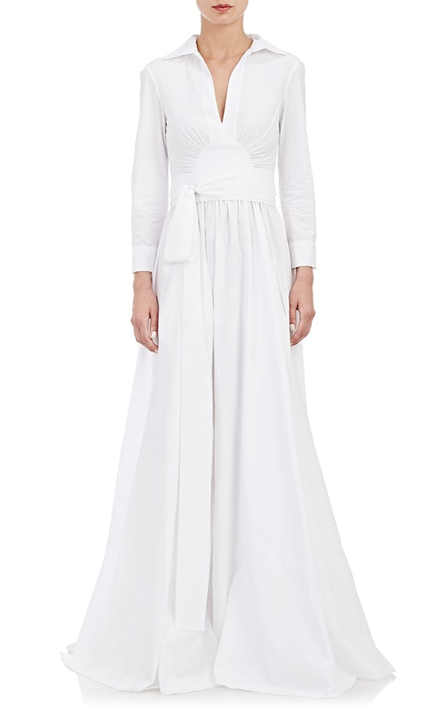 Brock Collection Poplin Gown ($2,900)