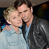 Pictured: Ellen DeGeneres and John Stamos