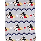 Mickey Mouse Let's Go Fleece Blanket