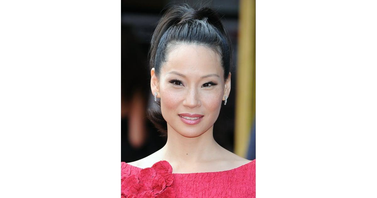 Get Lucy Liu Pretty In Pink Make Up Look Popsugar Beauty Uk