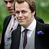 Tom Parker Bowles at the Wedding of His Sister Laura and Harry Lopes (2006)