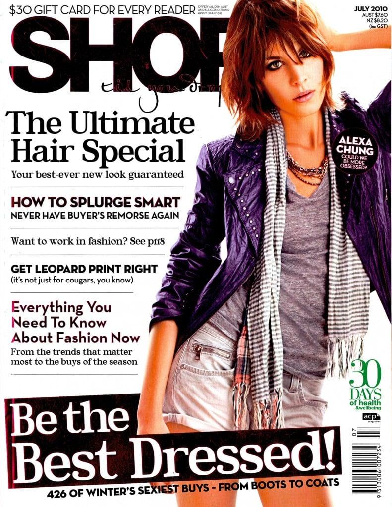 July 2010: Shop Til You Drop