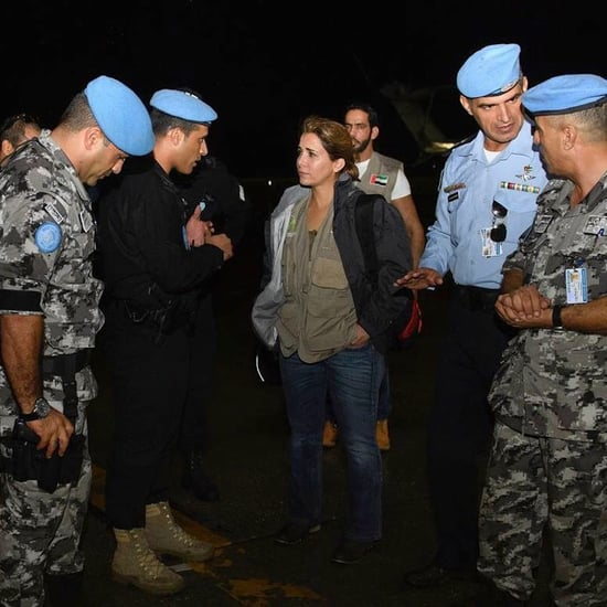 UAE Princess Haya Meets Pope Francis Ahead of Haiti Aid Trip