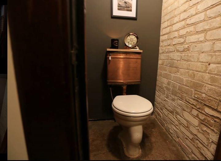 You Believe Copper Is A Perfect Accent Even On Toilets