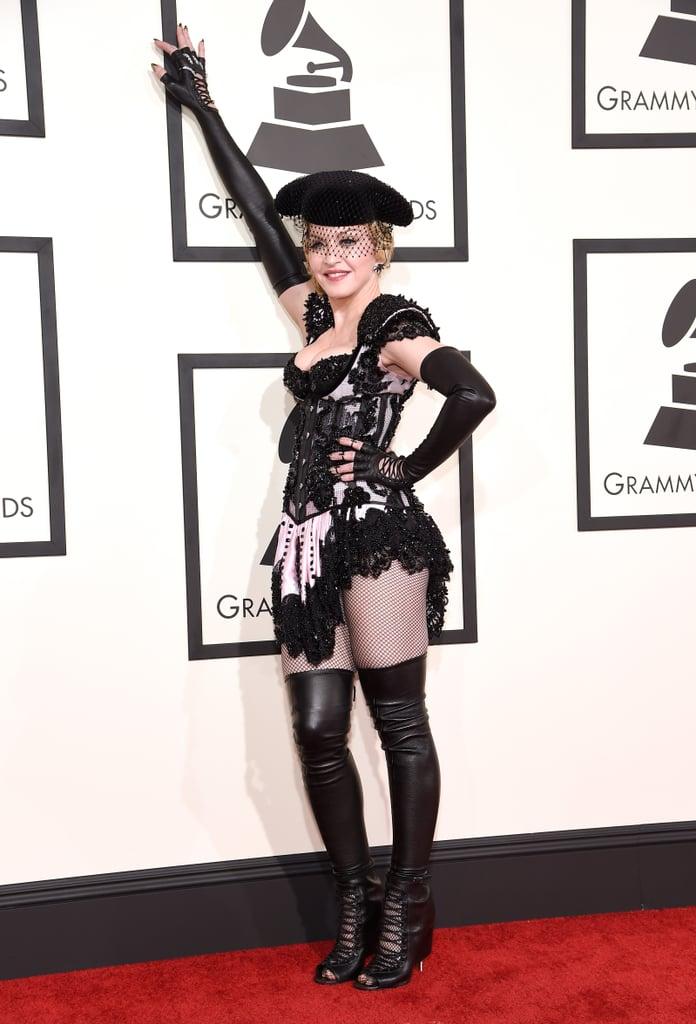 Madonna At The Grammys 2015 Pictures Popsugar