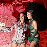 Solange Knowles and Ciara