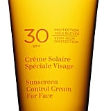 Clarins Sunscreen Control Cream SPF 30, $40