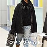 Rihanna Wearing Uggs at the Airport January 2019
