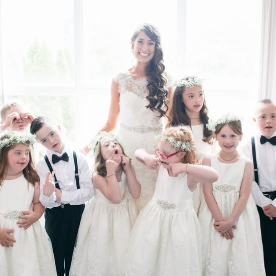Special Ed Teacher Includes Class in Her Wedding Party