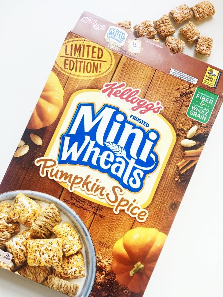 Kellogg's Pumpkin Spice Frosted Mini Wheats ($4)