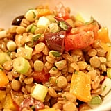Lentil and Grilled Pepper Salad