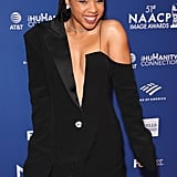 Chloe Bailey at the 2020 NAACP Image Awards Dinner