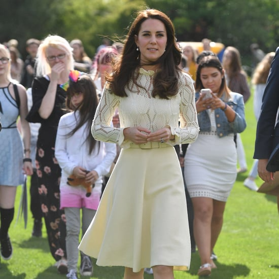 Kate Middleton Wears See by Chloe Dress