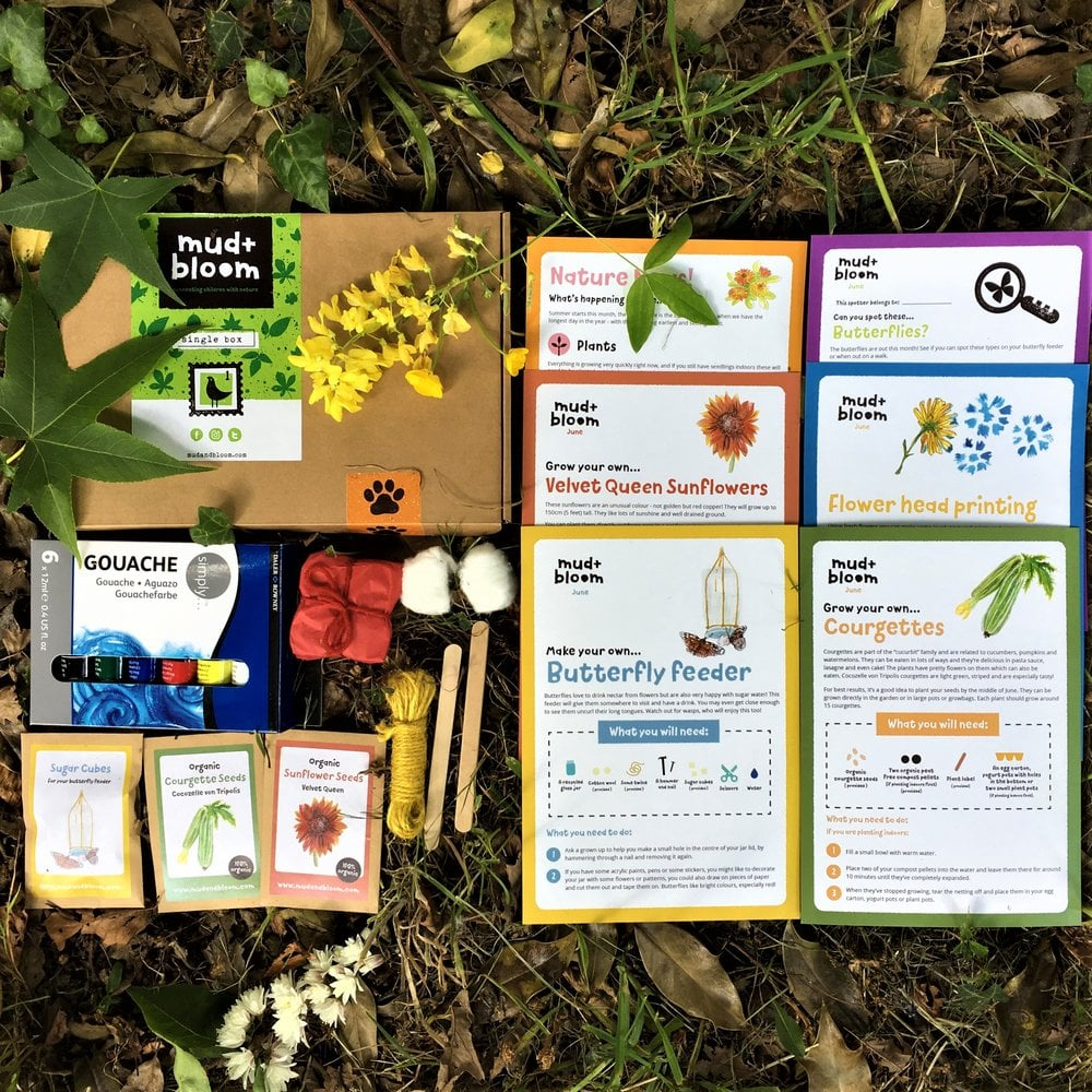 Mud + Bloom Kids Nature-Themed Subscription Box