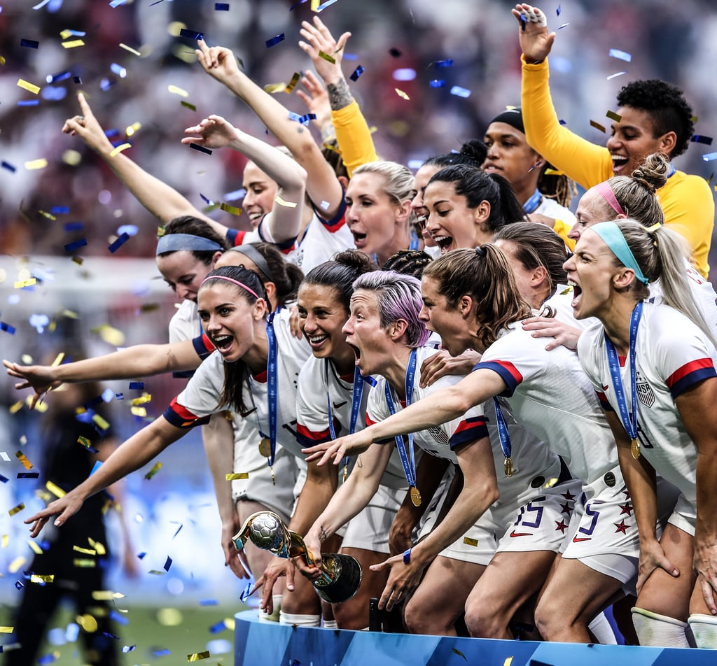 Celebrity Reactions to USWNT's 2019 World Cup Win