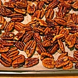 Nigella's Maple Pepper Pecans