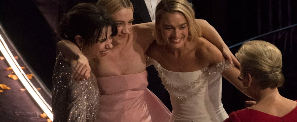 Best Actress Nominees Group Hug at Oscars 2018