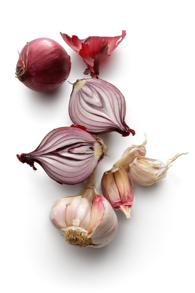 Garlic, Onion and Wild Rice