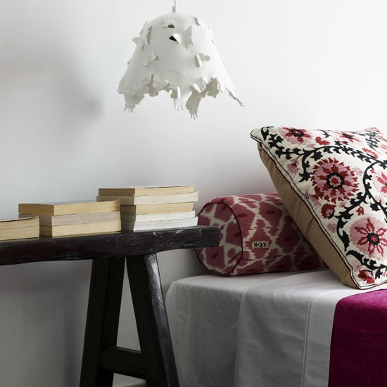 This Feminine Bedroom Is Mature, Exotic, And Eclectic
