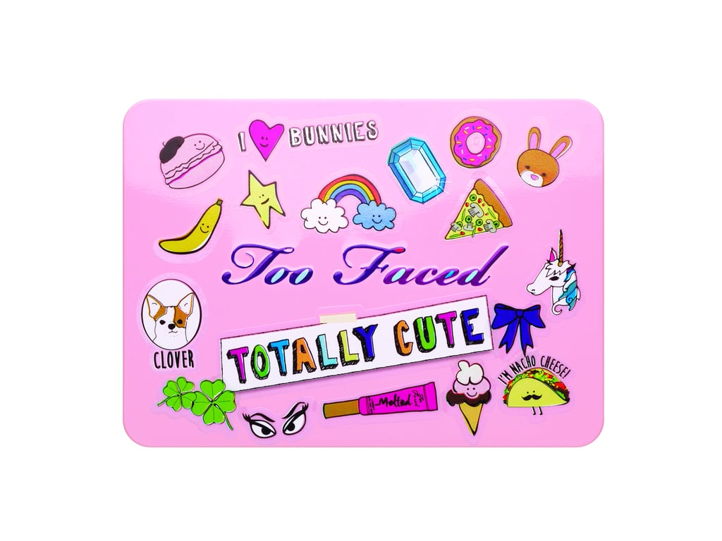 Too Faced Totally Cute Palette With Stickers