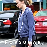 Emily Blunt Showing Baby Bump While Shopping in LA