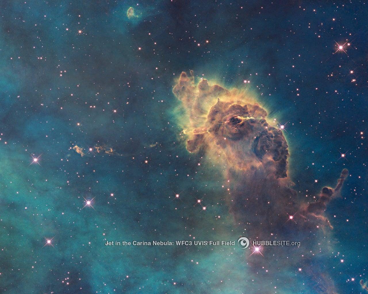 Carina Nebula Gas