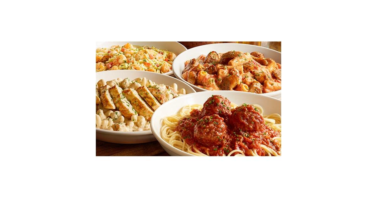 Cucina mia build your own pasta healthiest menu items at olive garden popsugar fitness photo 7 for Olive garden create your own pasta