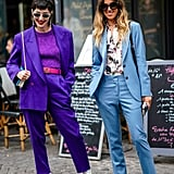Test-Drive the Trend With an Ultra Violet Pantsuit