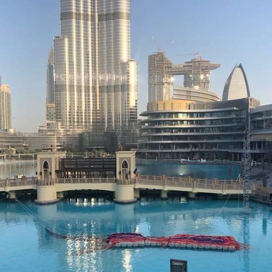 دبي مول يستعرض تشكيل فنّي من تصميم جانيت إيكلمان