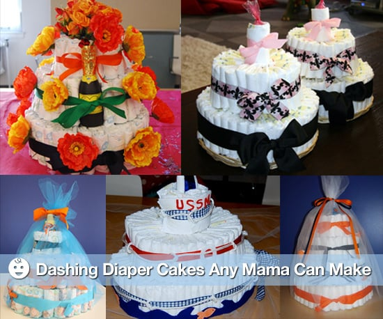 Photos of How to Make a Diaper Cake