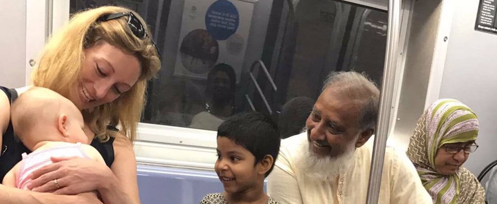 This Viral Photo of 2 Families Interacting on the Subway Is the Best Thing on the Internet