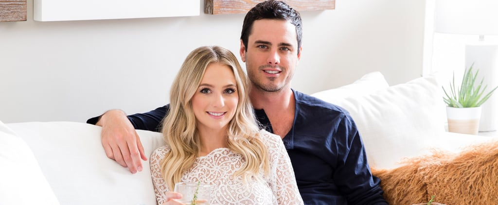 The Bachelor's Ben and Lauren Get Real About Moving In Together and Give Us a Peek Inside Their Cozy Lovenest