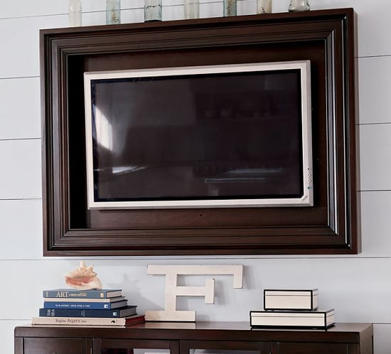 Love It or Leave It? Hardwood Flat-Panel TV Frame