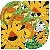 Jungle Animals Themed Birthday Party Napkins and Plates