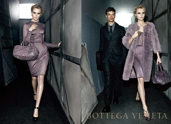Anna Jagodzinska Stars in Bottega Veneta's Fall 2009 Ads