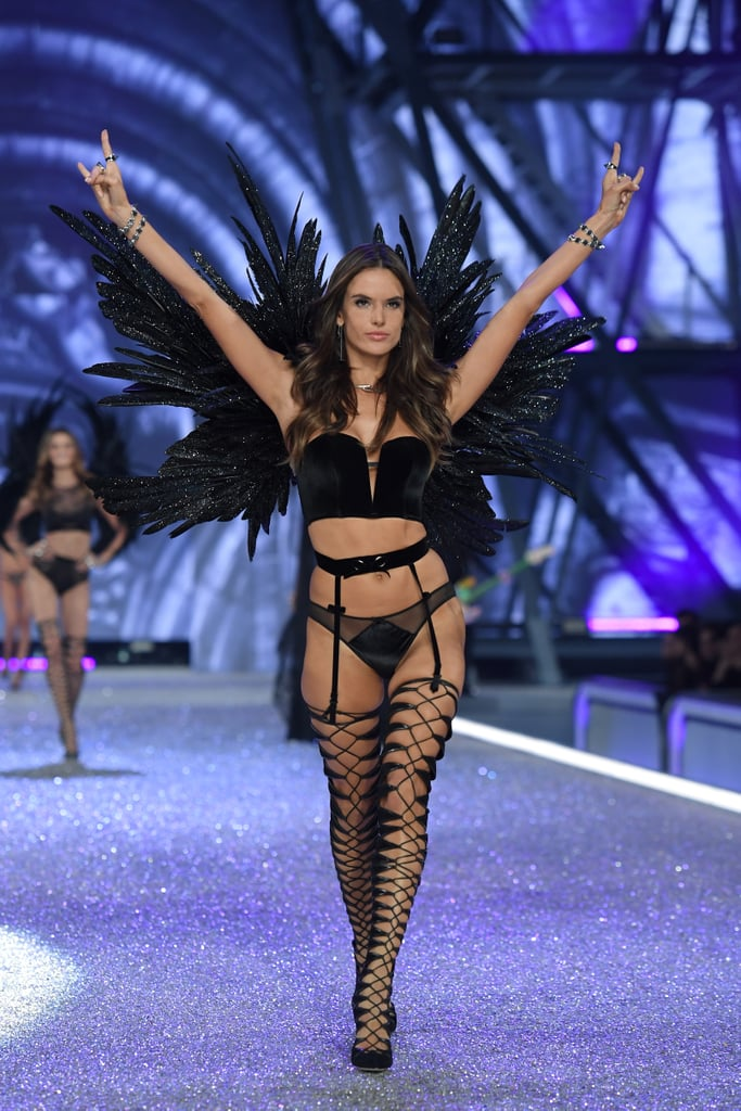 596c99a9821 Alessandra Ambrosio at Victoria s Secret Fashion Show 2016 ...
