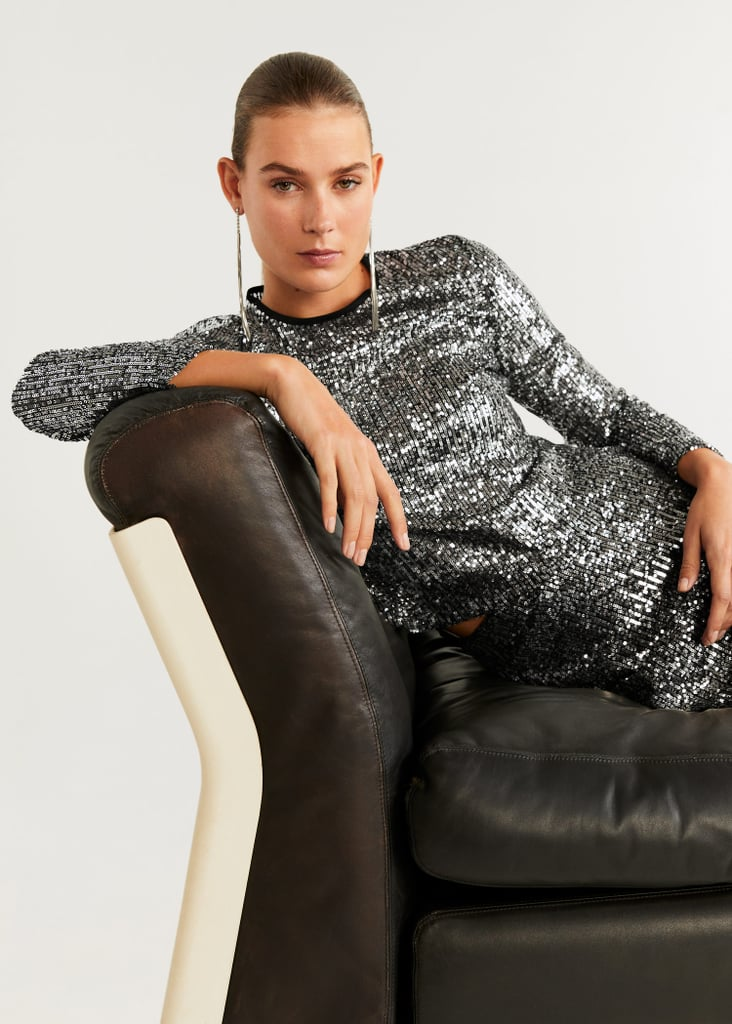Mango Sequined Outfit