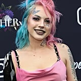 Baby Goth at Instagram's 2020 Grammy Luncheon in LA