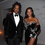 JAY-Z and Beyoncé at Diddy's 50th Birthday Party