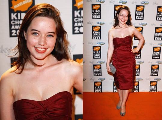 2008 Nickelodeon UK Kids' Choice Awards: Anna Popplewell