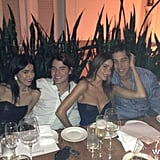 Sofia Vergara and Nick Loeb dined out at Bianca. Source: Sofia Vergara on WhoSay